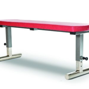 Gymleco 100-Series Adjustable Flat Gym Bench