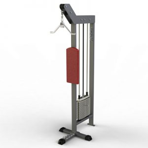 Gymleco 200-Series Lateral Triceps Pushdown W. Back Support 100kg